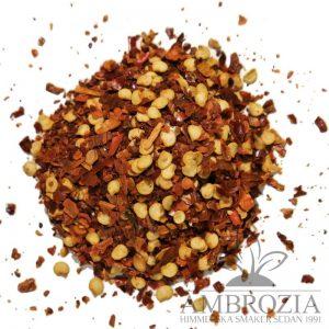 Chilipeppar chili flakes